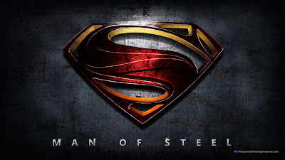 Logo of the Man of Steel Movie releasing in 2013