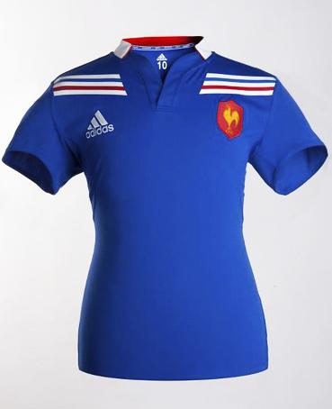 0b2a3e2245 Loucos por camisa  Seleção Francesa de Rugby