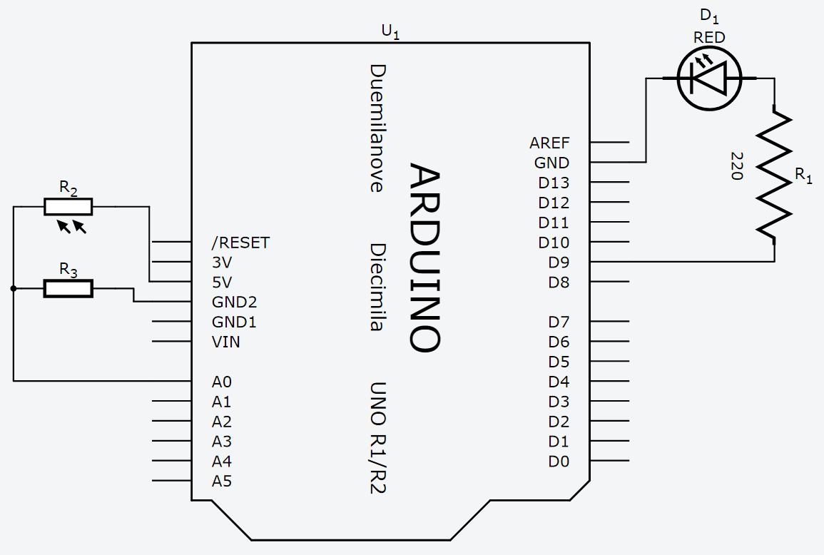 The Vulnerable Space: Arduino - Analog I/O