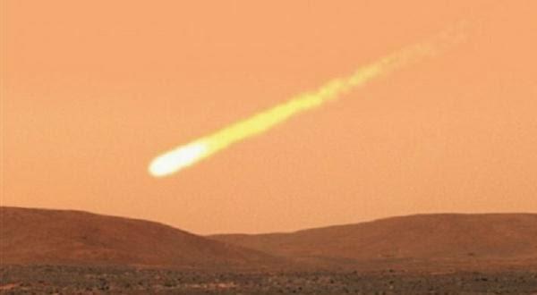 Komet C-2013 A1 Bakal Memicu Hujan Meteor di Mars