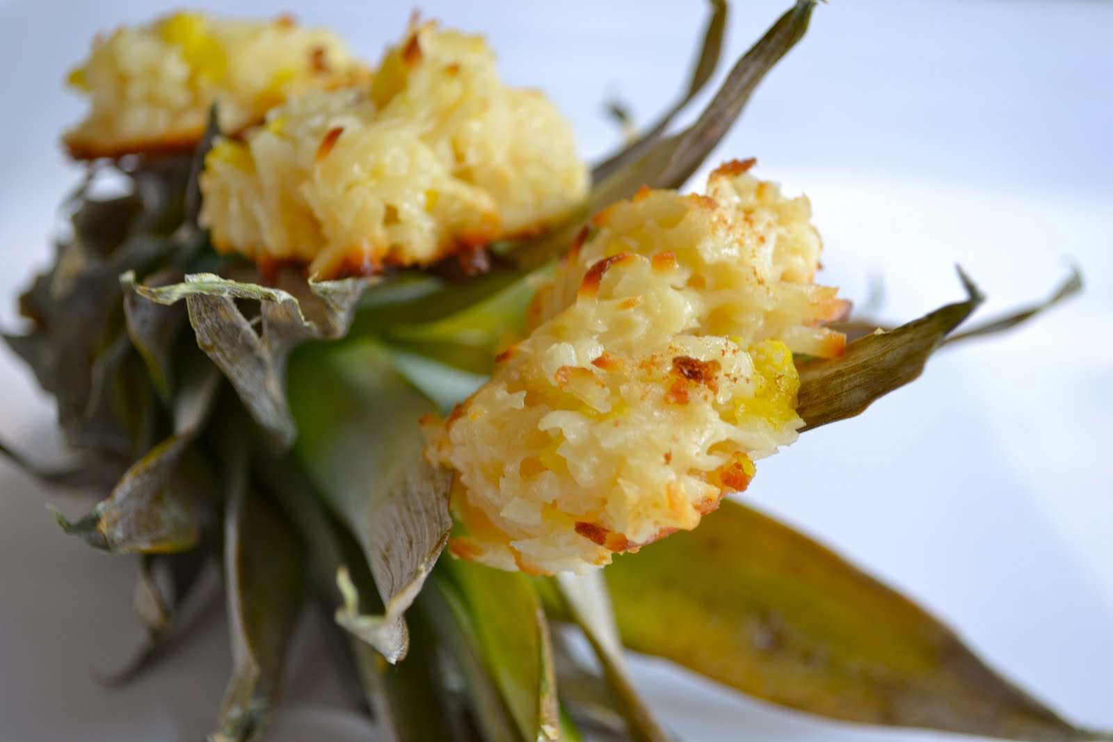 Pineapple Coconut Macaroons - Mother Thyme