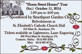 10-11 Home Sweet Home Tour--Smethport, PA