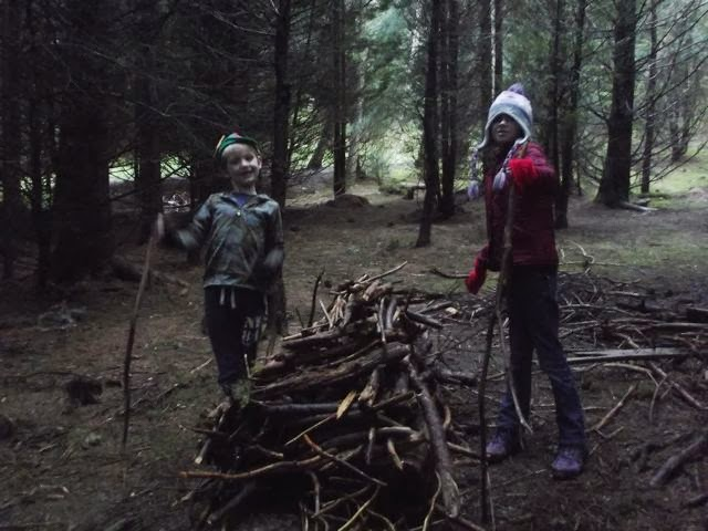 Stick Man trail Whinlatter stick tower
