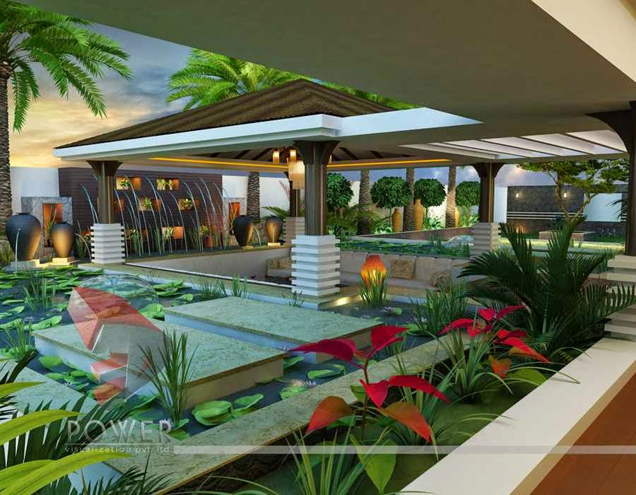 Ultra modern home designs home designs house 3d for Luxury bungalow designs