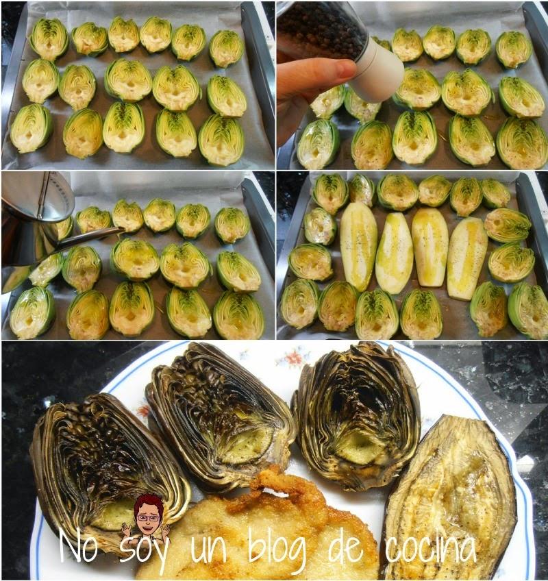 Guarnicion: verduras a la plancha