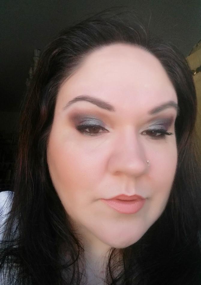 fotd makeup ecobio melastegata nevecosmetics