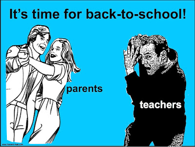 Back-to-school time: Parents vs. Teachers (from www.traceeorman.com)