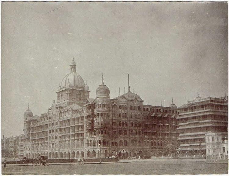 Taj Mahal Hotel in Bombay (Mumbai) c1905-10