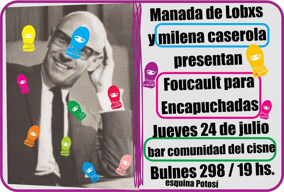 1° presentación de Foucault para encapuchadas