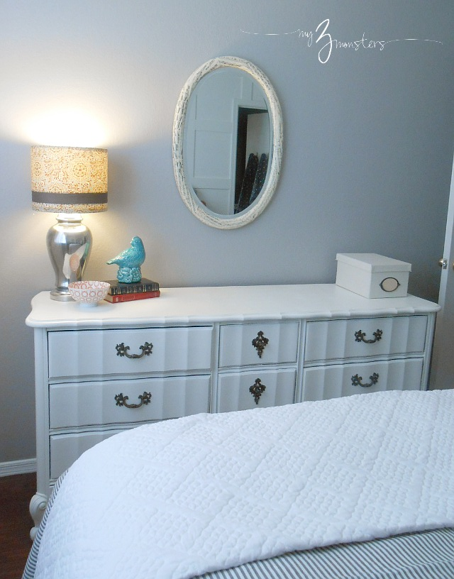 Creating a beautiful guest bedroom at my3monsters.com
