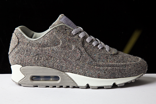 Grey Nike Shoes With Leopard Laces