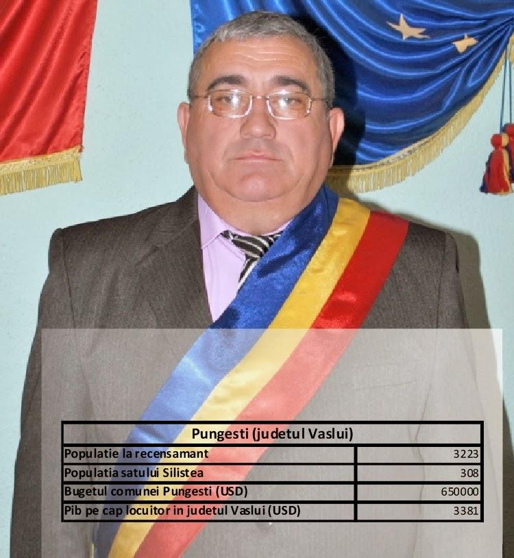 Bugetul comunei Pungești Vaslui