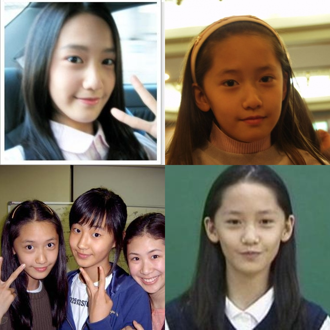 Park Shin Hye Before and After