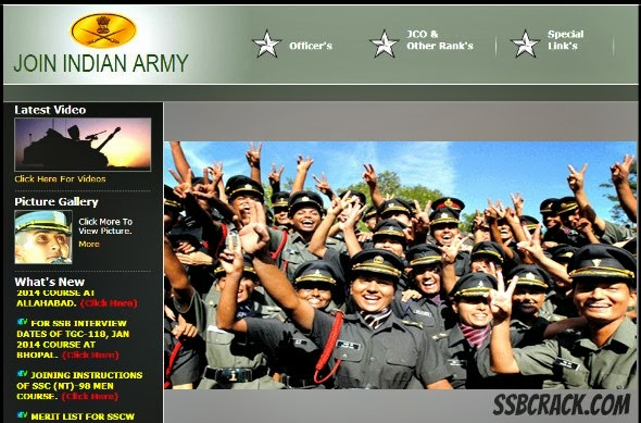 the army website