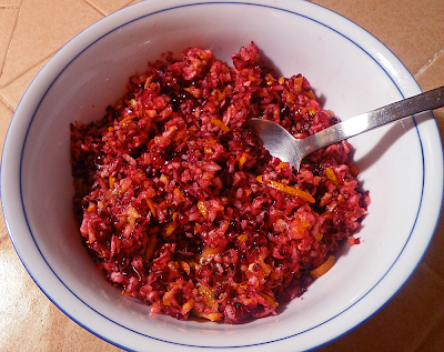 Cranberry-Orange Relish Complete