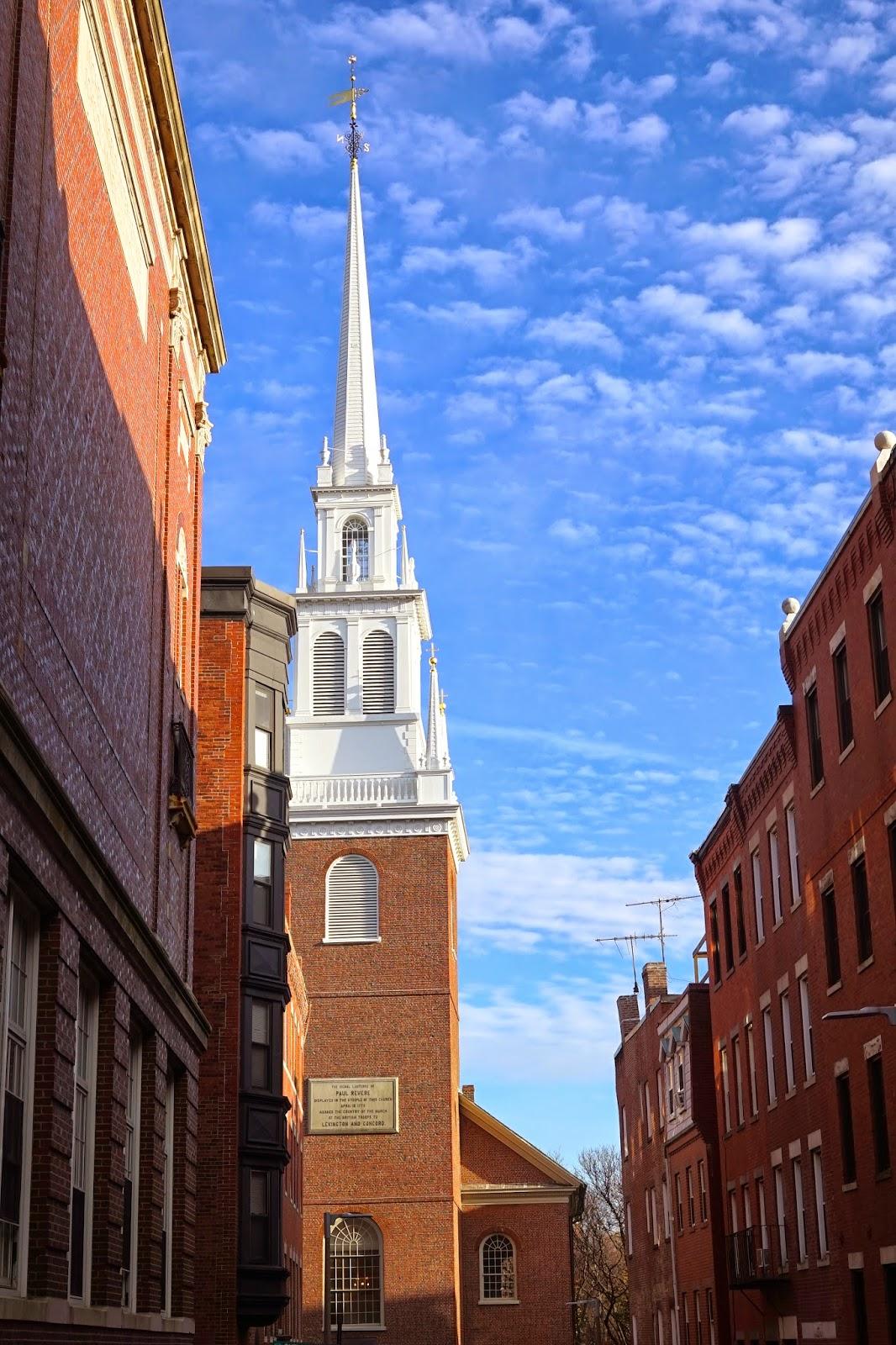 paul revere church boston
