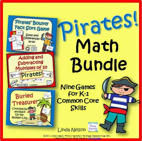 http://www.teacherspayteachers.com/Product/Pirates-Nine-Math-Games-for-K-1-Common-Core-Standards-1226436