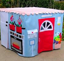 Тканевые игровые домики для мальчиков и девочек