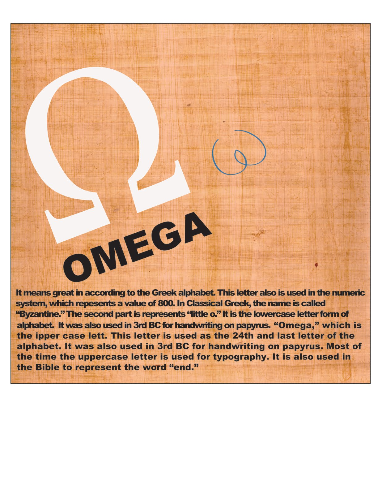 Omega Posters For Typography Chelsea Art Press
