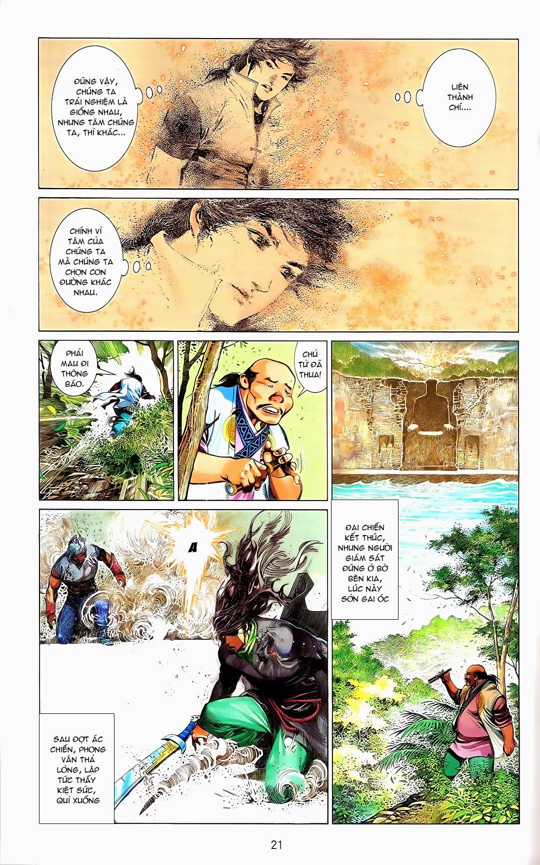 Phong Vân chap 670 Trang 20 - Mangak.info
