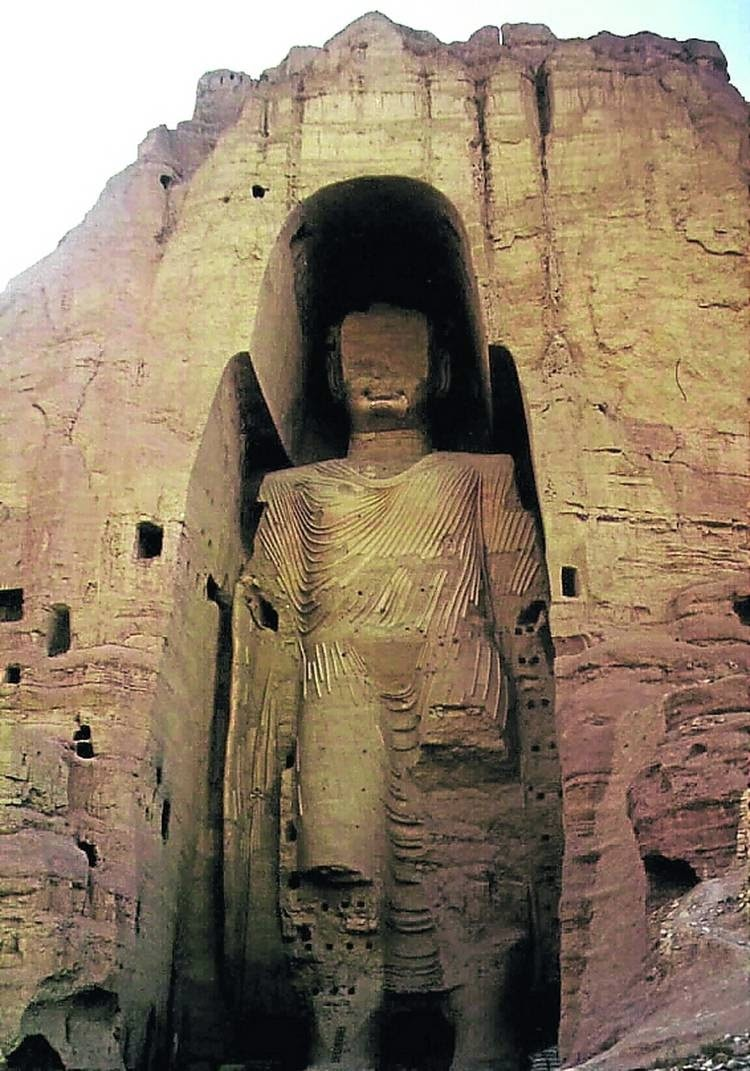 Los budas de Bamiyán, el buda grande - www.historiadelascivilizaciones.com
