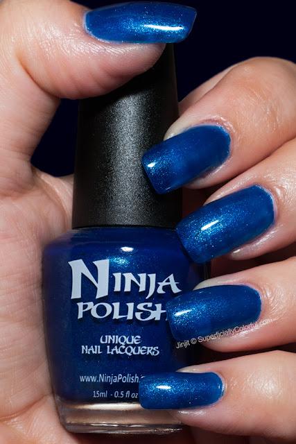 Sapphire Dreams Ninja Polish