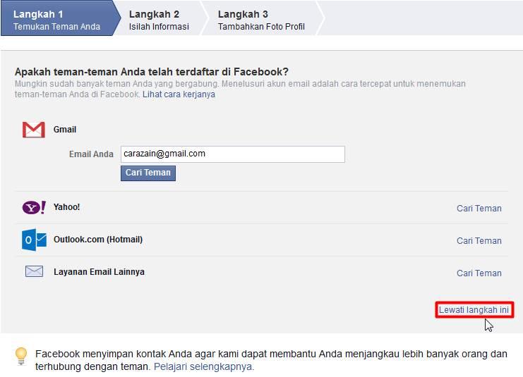cara membuat facebook baru gratis daftar akun fb cara zain