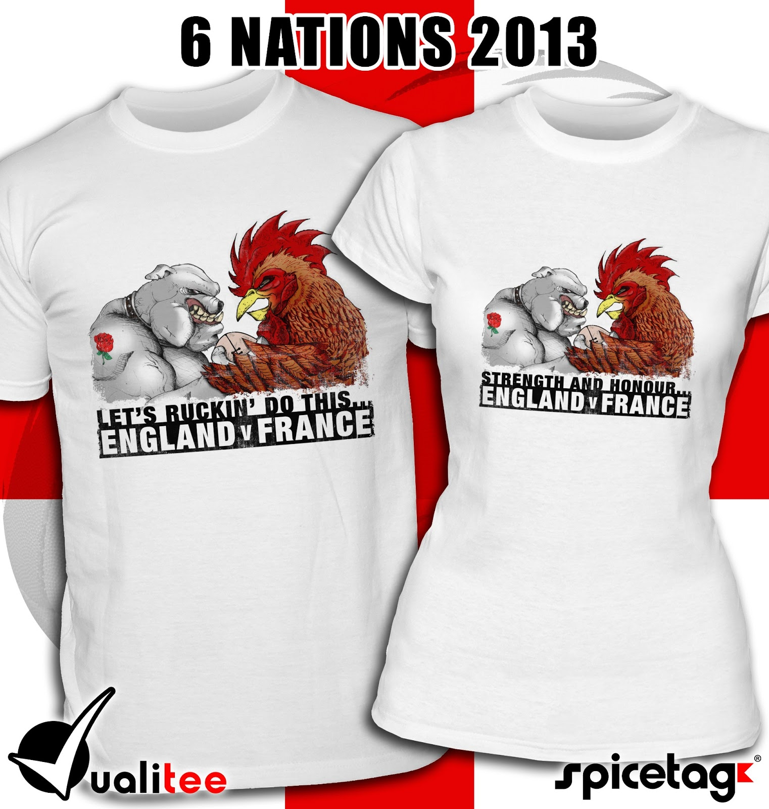 Rugby Shirt For Dog: The Spicetag Blog: Latest Six Nations Rugby T-shirts