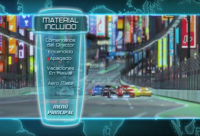 Cars 2 2011 [DVDR Menu Full] Español Latino [ISO] NTSC Descargar