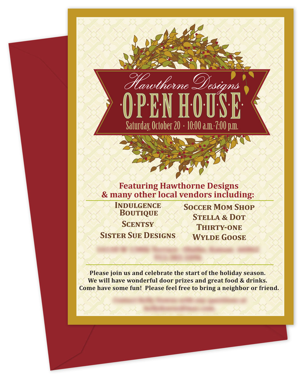 Open house invitation template friedricerecipe Images