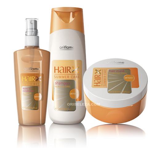 Oriflame HairX - Cuidados de Verão