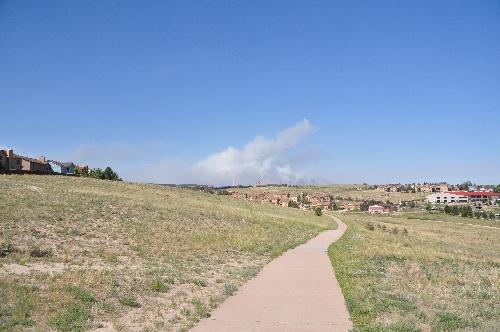Black Forest fire June 12 2013 coloradoviews.blogspot.com