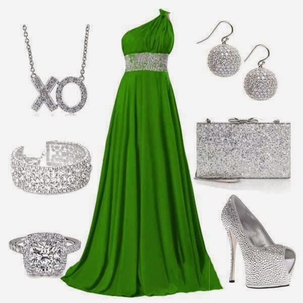 Vestidos verdes para madrinas de bodas