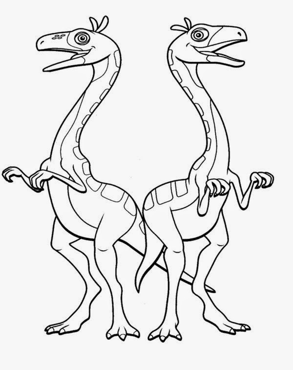 dinosaur train coloring pages online - photo#24