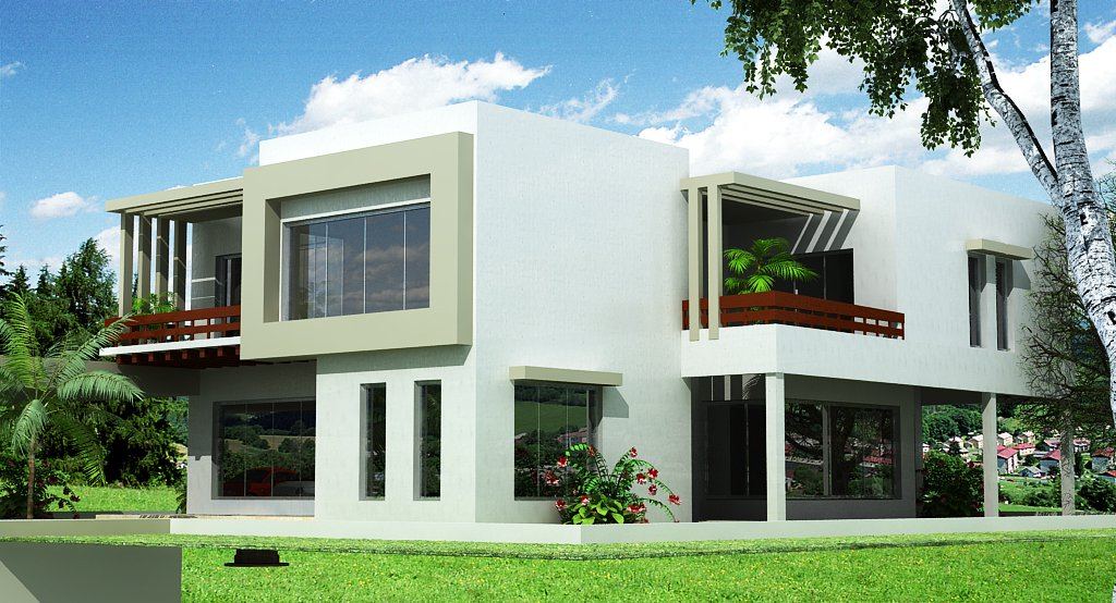 Front elevation of small houses home design architecture for Small house elevation in india