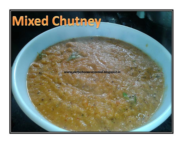 Mixed Chutney