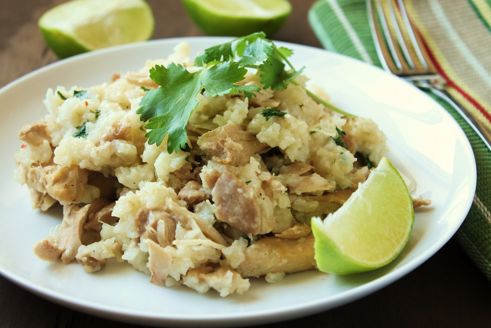 Slow-Cooker Cilantro-Lime Chicken Thighs and Rice from Delicious as it ...