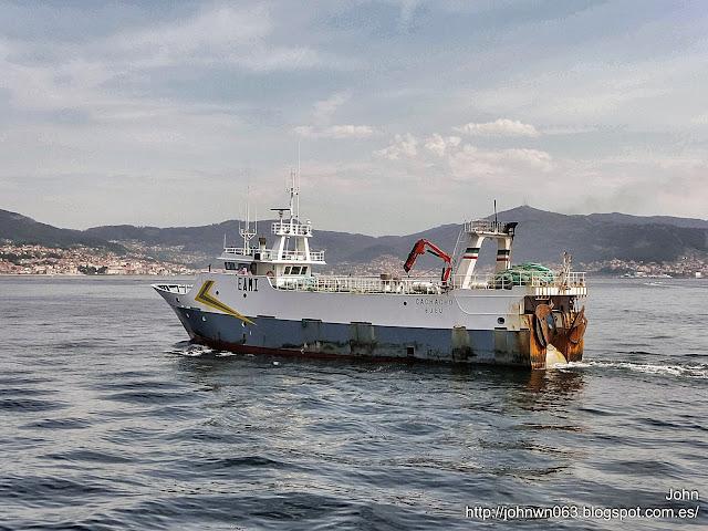 fotos de barcos, imagenes de barcos, cachacho, pesquero, arrastrero, vigo