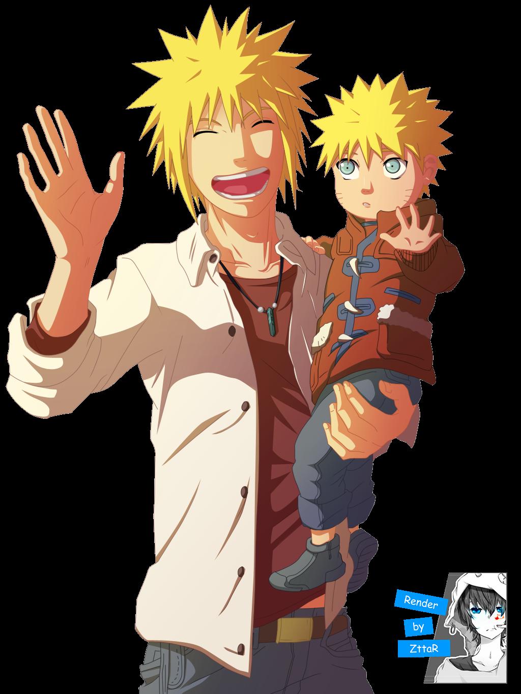 Render Minato & Naruto Uzumaki