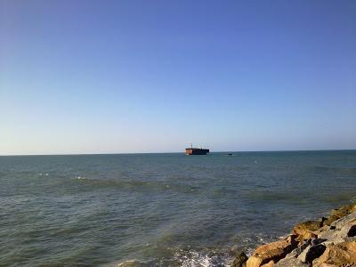 Praia Iracema Fortaleza Ceará Navio