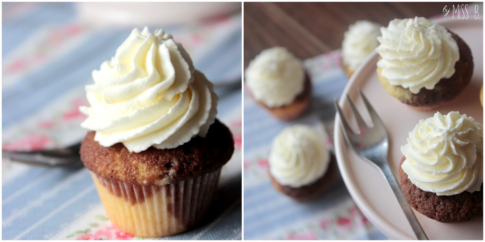 miss blueberrymuffin 39 s kitchen kleiner klassiker mini marmor cupcakes. Black Bedroom Furniture Sets. Home Design Ideas