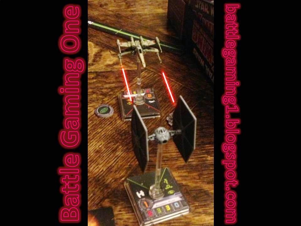 Battle Gaming One, X-Wing, FFG X Wing, Preferred Firing Position