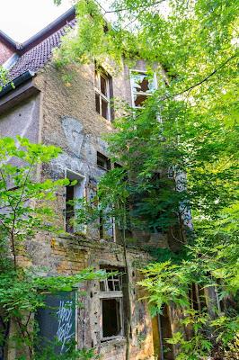 Casa abandonada em Berlim