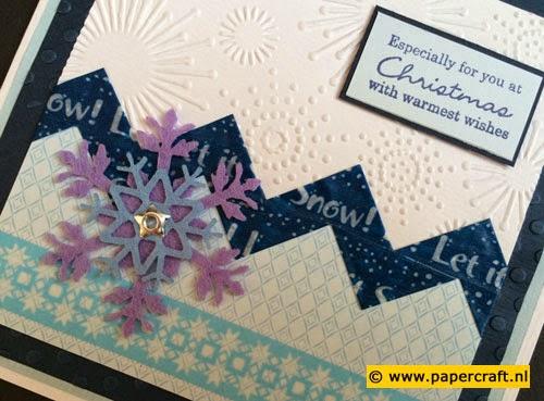 Paper Tape als een Chevron gevouwen