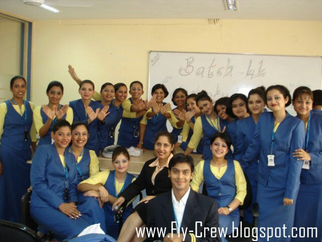 how to become air hostess after graduation