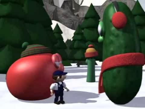 then junior thinks up a way to tell everyone about christmas breaking into the toy factory and broadcasting their message - The Toy That Saved Christmas