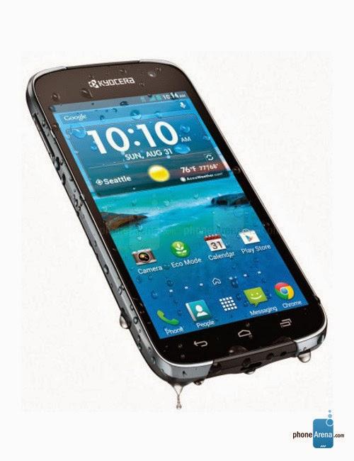 Kyocera Hydro Life, Smartphone 4G Tahan Banting Dan Anti Air