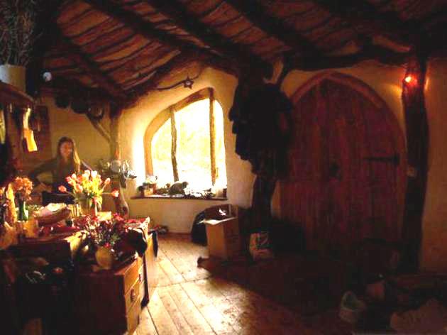 Cómo construir tu propia casa Hobbit