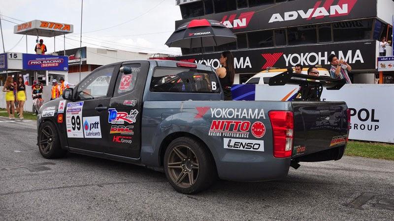 Modifikasi Mobil Isuzu D-Max Racing
