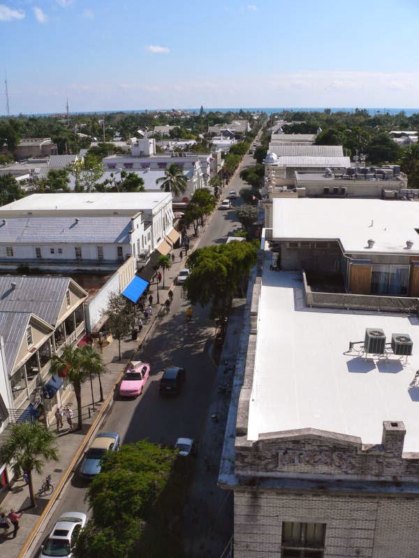 Duval Street View from La Concha